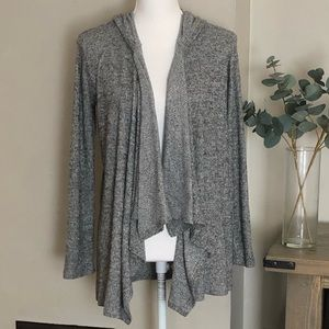 Olive + Oak open front cardigan